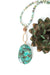 "Desert Rose 30-32"" Mushroom Jasper Statement Necklace"