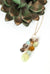 "Desert Rose 22-24"" Cascading Gemstone Tassel Necklace"