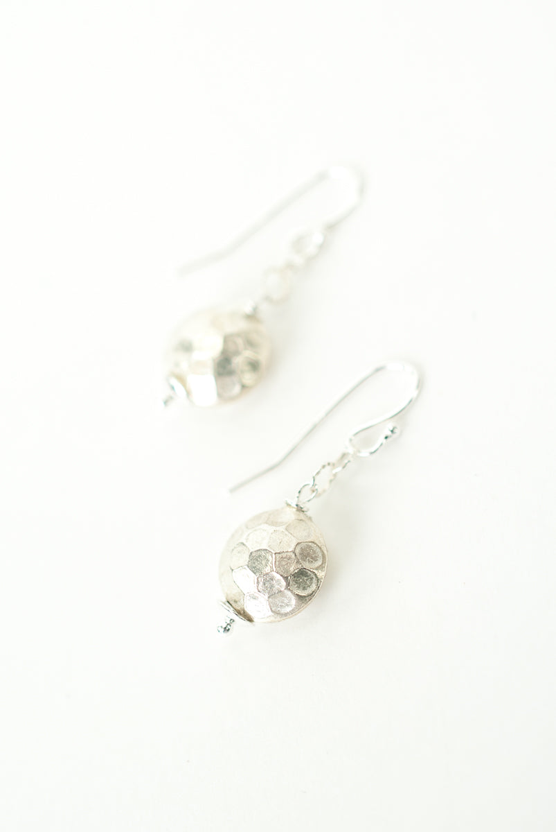 Everyday Fine Silver Dangle Earrings