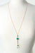 "Envy 28.5-30.5"" Turquoise Tassel Pendant Necklace"