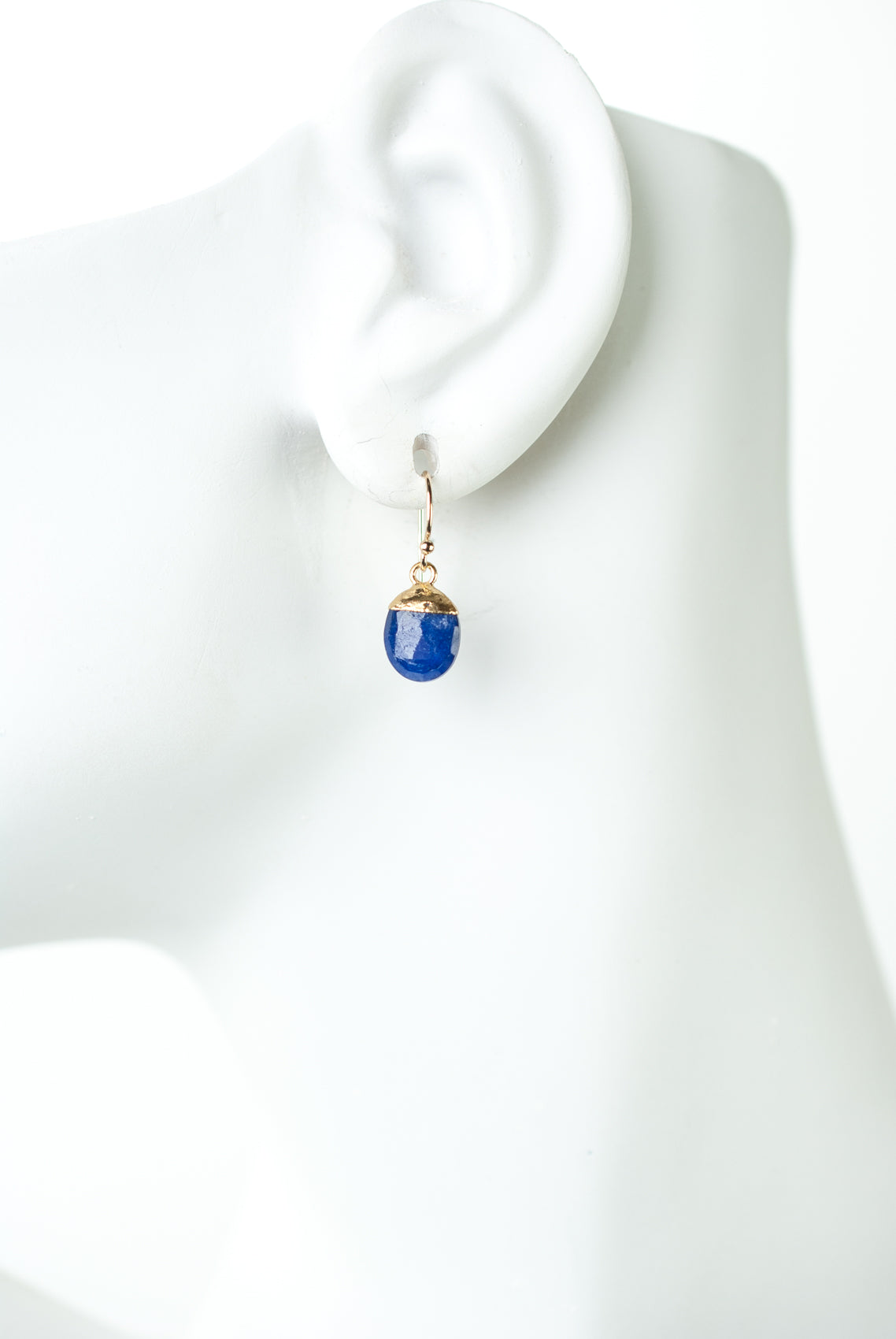 Intrigue Lapis Dangle Earrings