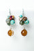 Inspiration Agate Cluster Dangle Earrings