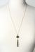 "Intuition 26-28"" Star Quartz Dangle Pendant Necklace"