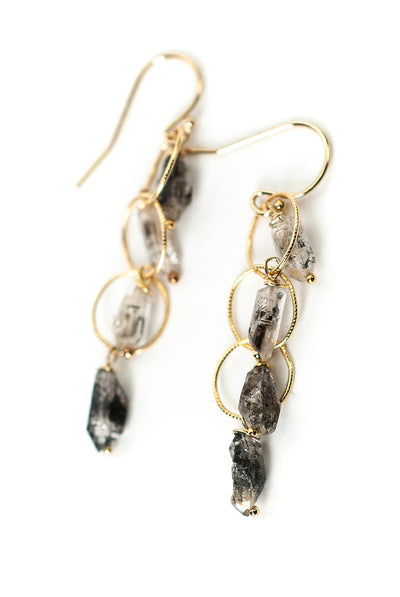 Intuition Herkimer Diamond Dangle Earrings