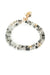 "Intuition 14-17"" Rutilated Quartz Wrap Bracelet"
