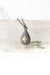 "Intuition 17-19"" Diamond Star Teardrop Pendant Necklace"