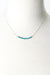 "*Jovial 16.25-18.25"" Neon Apatite Bar Necklace"