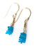 Jovial Neon Apatite Dangle Earrings
