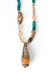 *Limited Edition Adjustable Tibetan Focal on Leather Necklace