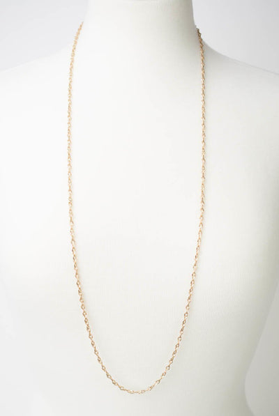 "***Midnight 35.5-38.5"" Long Layer Necklace"