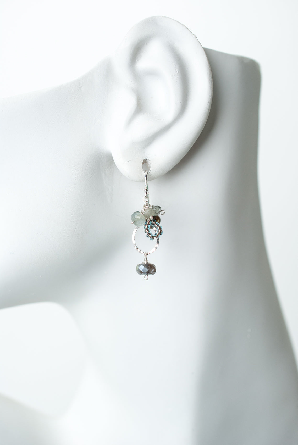 Resilience Labradorite Cluster Earrings