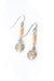 Refresh Pearl, Citrine Dangle Earrings