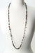 "Rich Vintage 39-41"" Fresh Water Pearl, Crystal, Garnet Collage Necklace"