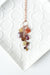 "*Rhapsody 20-22"" Gemstone Cascading Cluster Necklace"