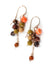 *Rhapsody Rose Gold Cascading Cluster Earrings