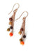 *Rhapsody Rose Gold Tassel Earrings