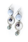 Reflections Blue Lace Agate Dangle Earrings