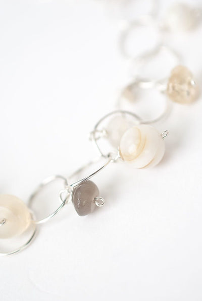 "Solara 7.5-8.5"" Simple Dangle Bracelet"