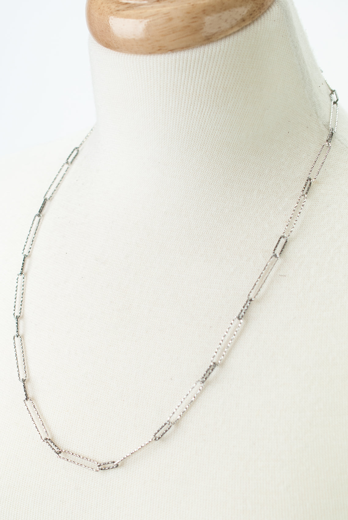 "*Victory 24"" Adjustable Chain Necklace"