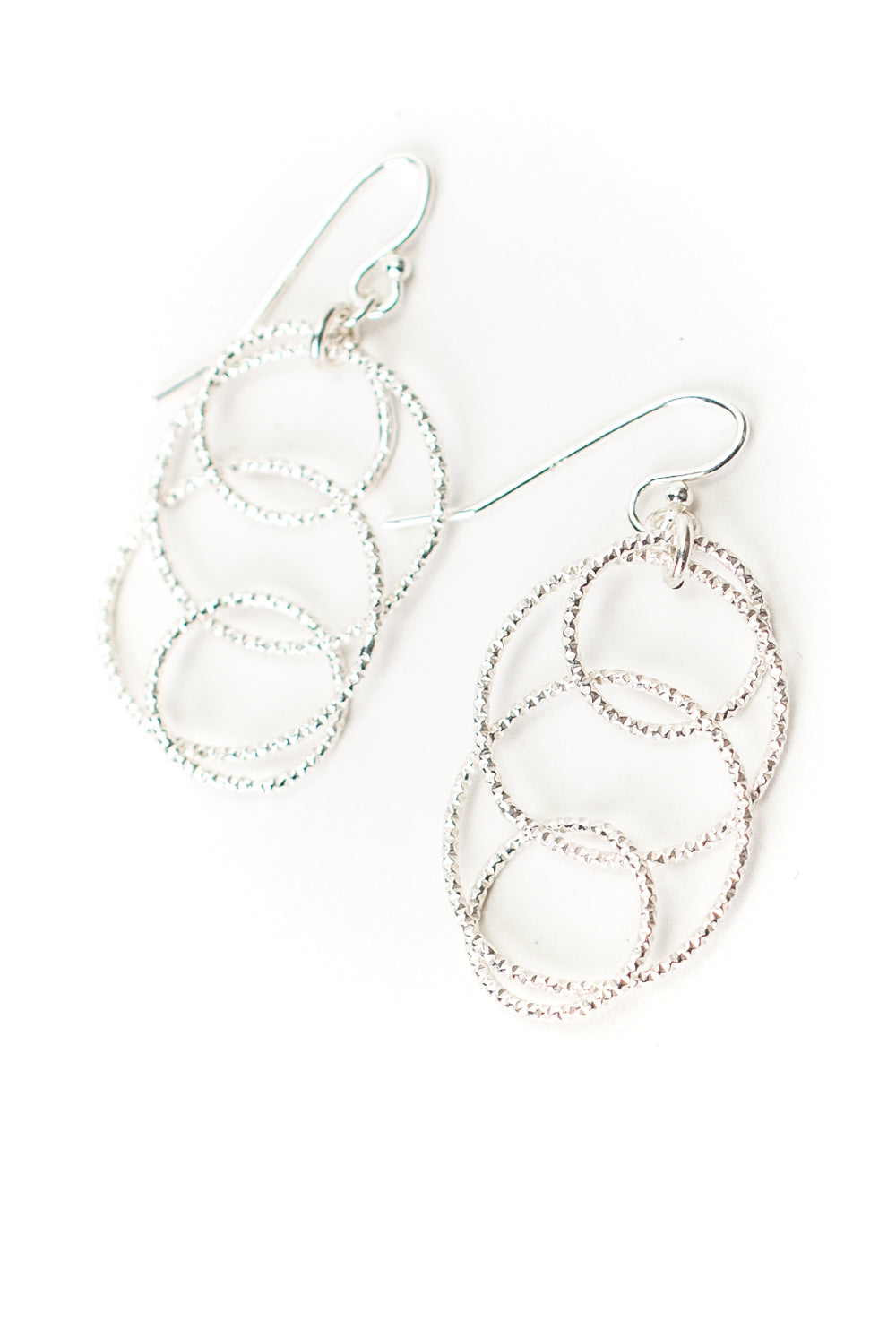 Vision Sterling Silver Layered Hoop Earrings