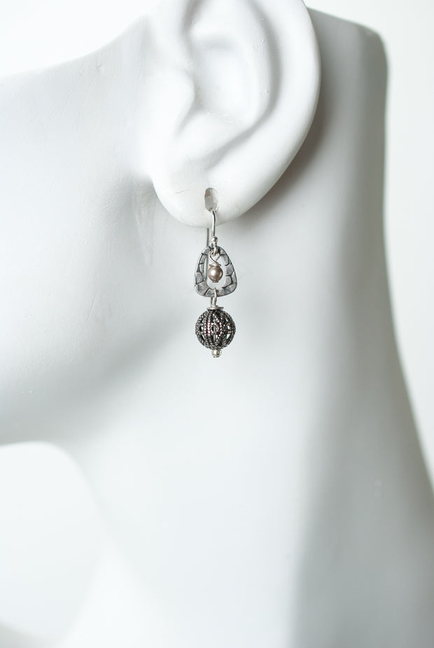 Windsor Castle Filigree Dangle Earrings 1