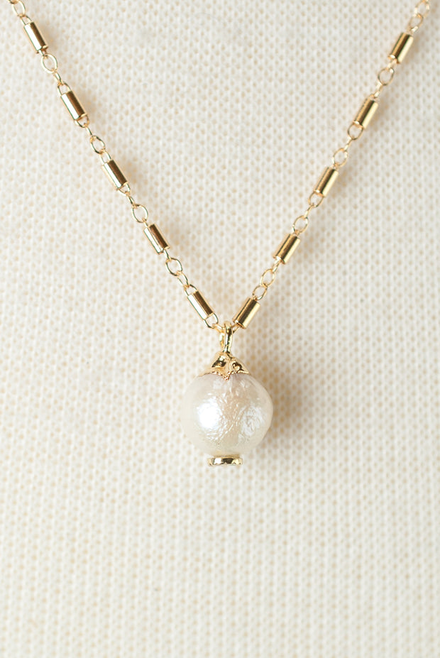 """*Wisdom 18-20"""" Fresh Water Pearl Focal Necklace 1"""