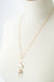 "*Wisdom 20.5-22.5"" Freshwater Pearl Crescent Herringbone Focal Necklace"
