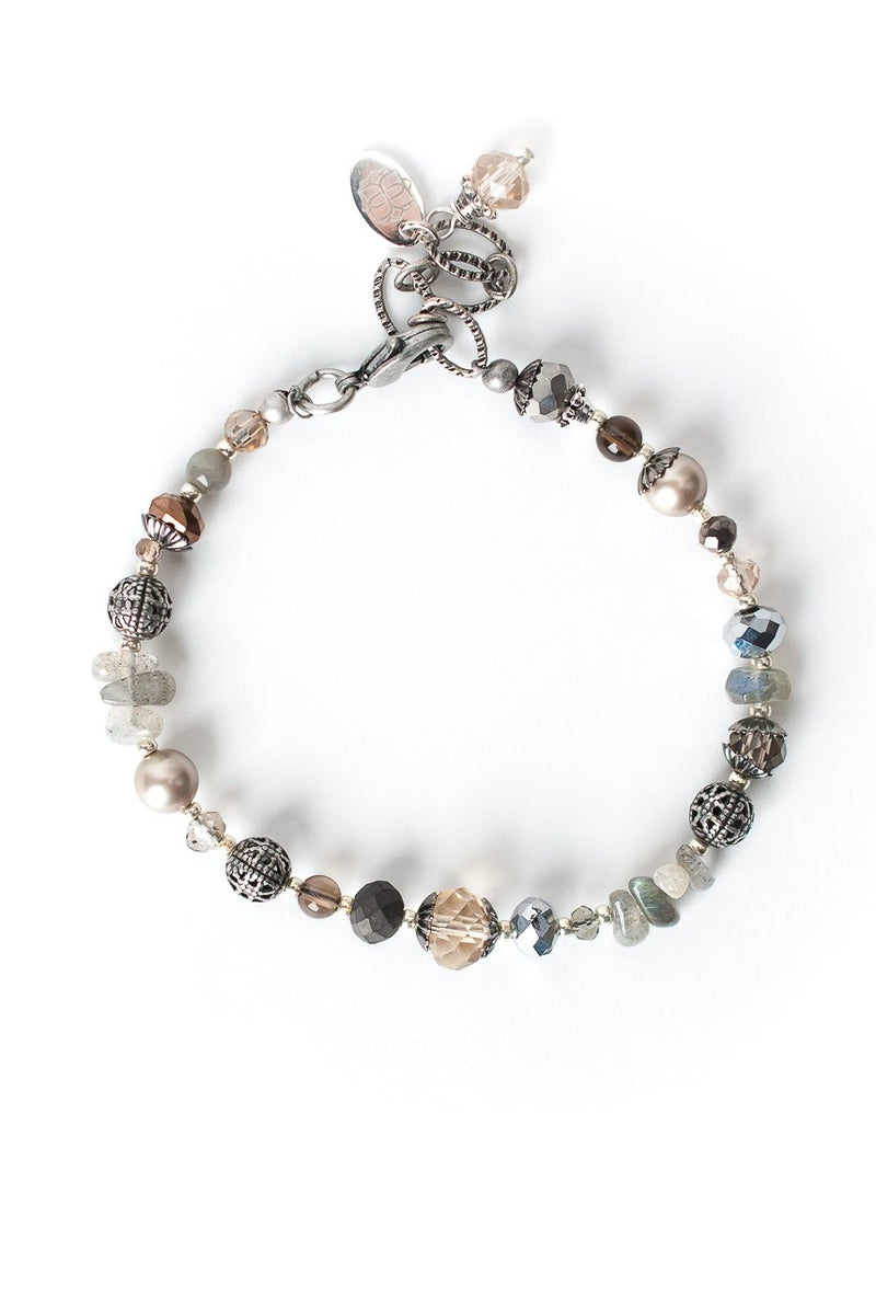 "Windsor Castle 7-8.5"" Simple Gemstone Bracelet"