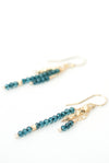 Limited Edition Aqua Quartz Tassel Earrings