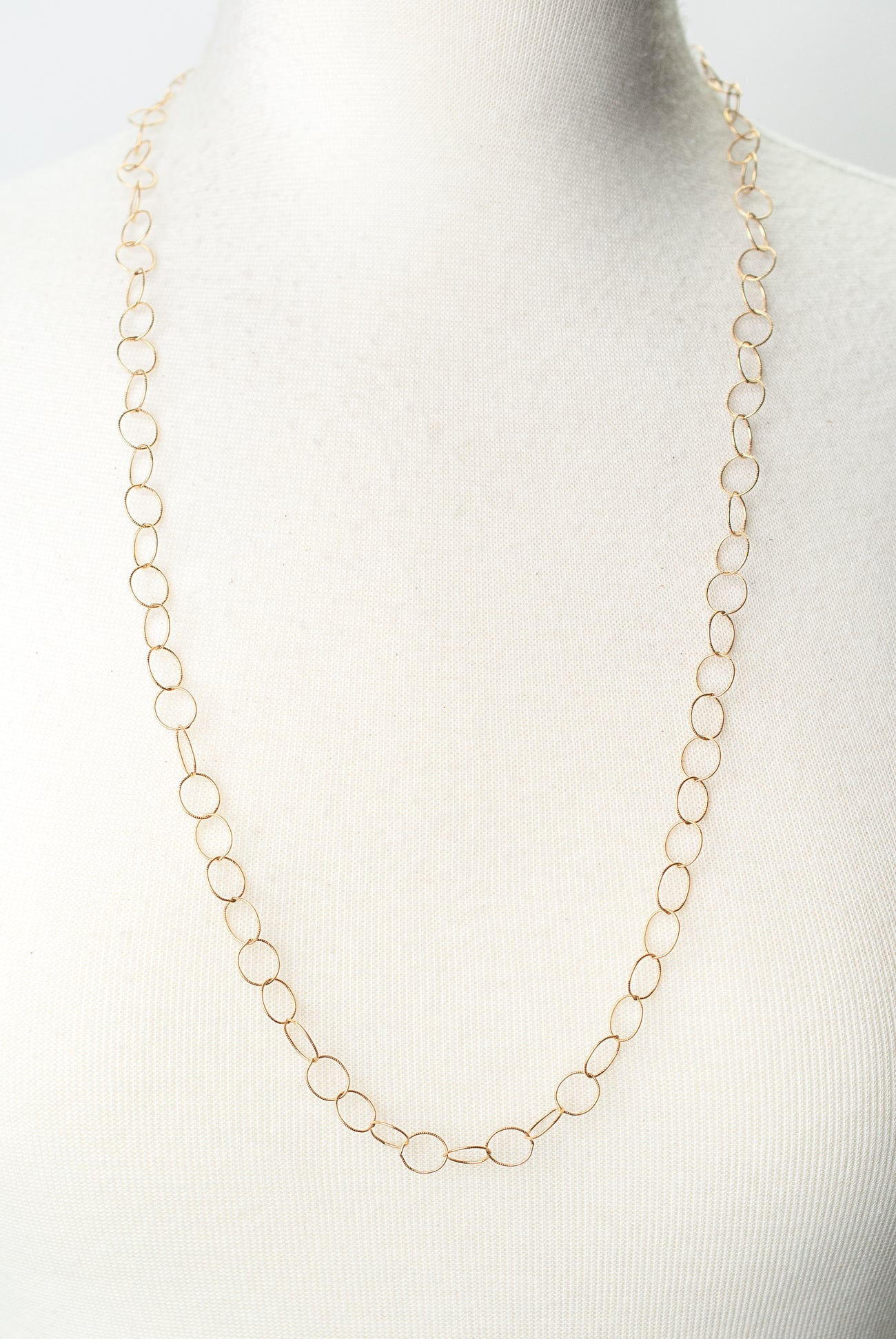 "Limited Edition 30"" Gold Filled Chain Necklace"