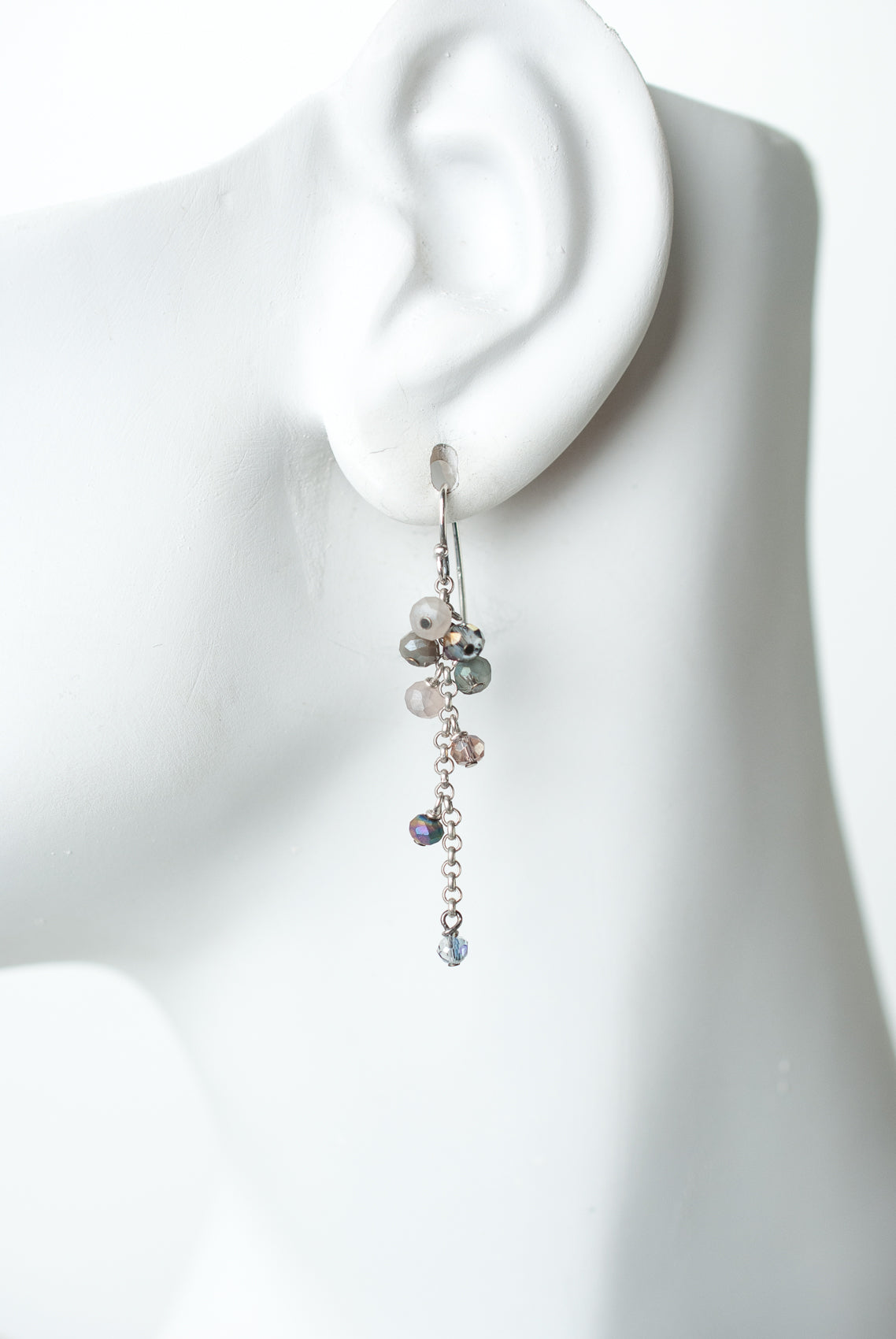 Reflections Cascading Crystal Dangle Earrings