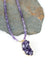 "One of a Kind 20.5-22.5"" Amethyst Focal Necklace"