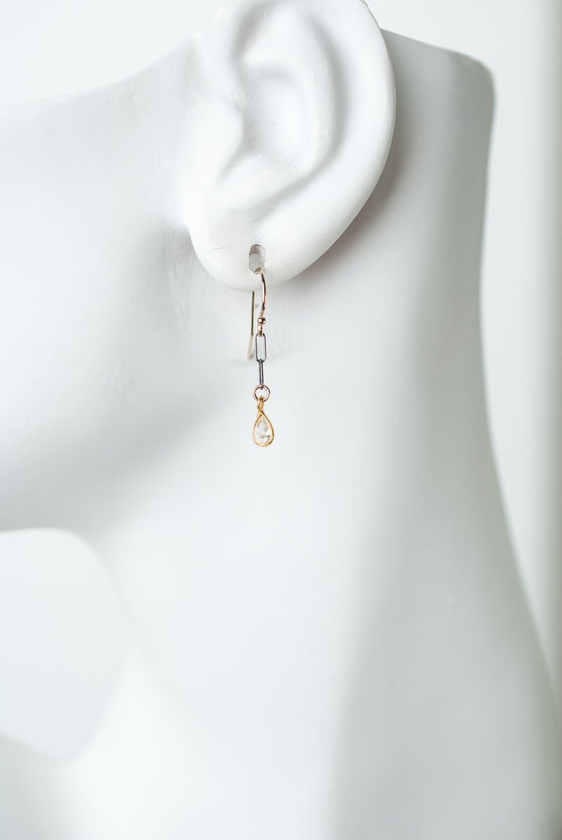 Limited Edition Cubic Zirconia Dangle Earrings