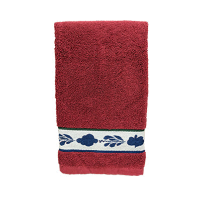 Boerenbont Hand Towel - Red (50x50cm)