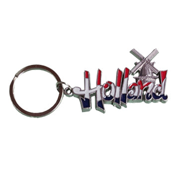 "Keychain - Mill ""Holland"" (R/W/B)"