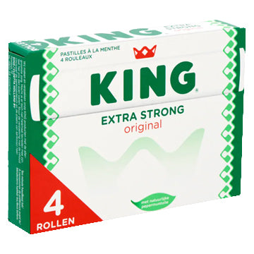 King Peppermint Extra Strong (4 Pack) - 176g.