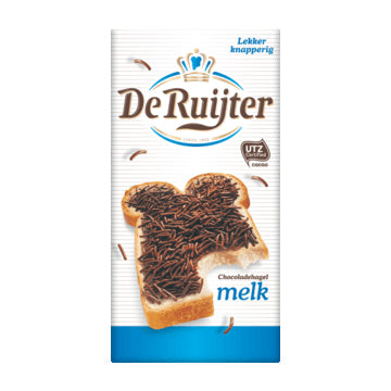 DeRuijter Chocolate Hail - Milk - 400gr.