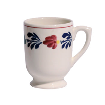 Boerenbont Mug - Mazagran with Foot 330mL