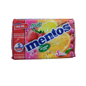 Mentos Fruit - 5 pack