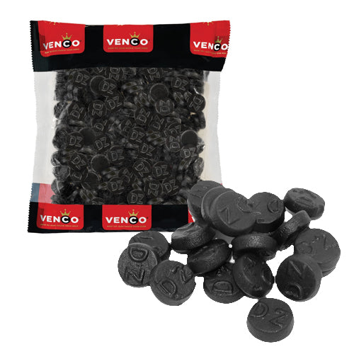 Venco Double Salt Rounds - 1kg.