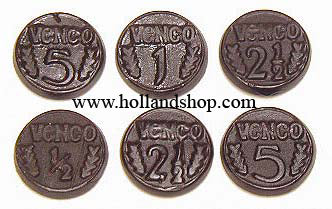 K & H Coin Licorice - 1kg.