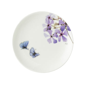"Marjolein Bastin - Plate Tiny Flox 2 Butterfly (10cm) ""Sketch of Nature"""