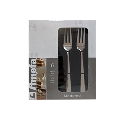Cake Forks - Amefa Moderno #1923 (Set of 6)