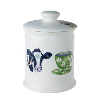 "Alie Kruse-Kolk - Storage Jar ""Country Life"""