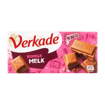 Verkade Milk Chocolate Bar - 111gr.