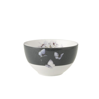 "Marjolein Bastin - Bowl Flox Grey Border (12cm) ""Sketch of Nature"""