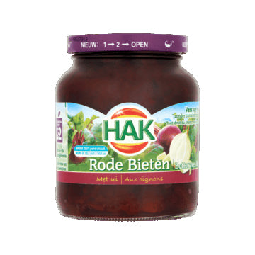 Hak Red Beets with Onions - 355gr