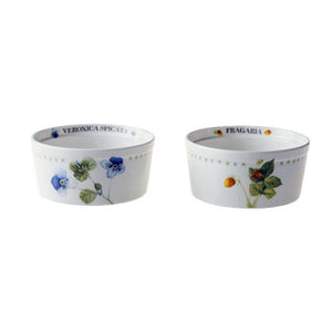 "Marjolein Bastin - Ramekins Fragaria (Set of 2) ""Wildflowers"""