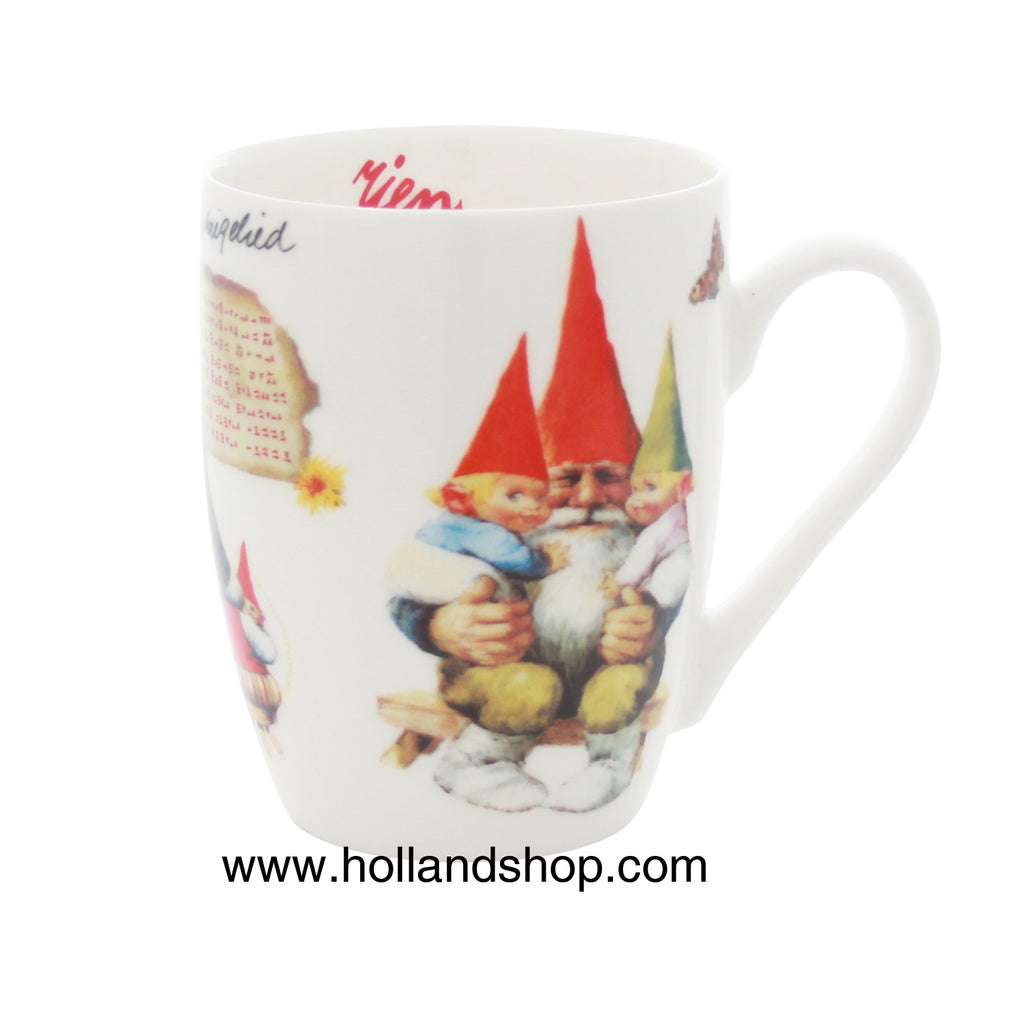 "Rien Poortvliet - Mug in Gift Box #8 (Old Lullaby) 330mL ""Gnomes"""