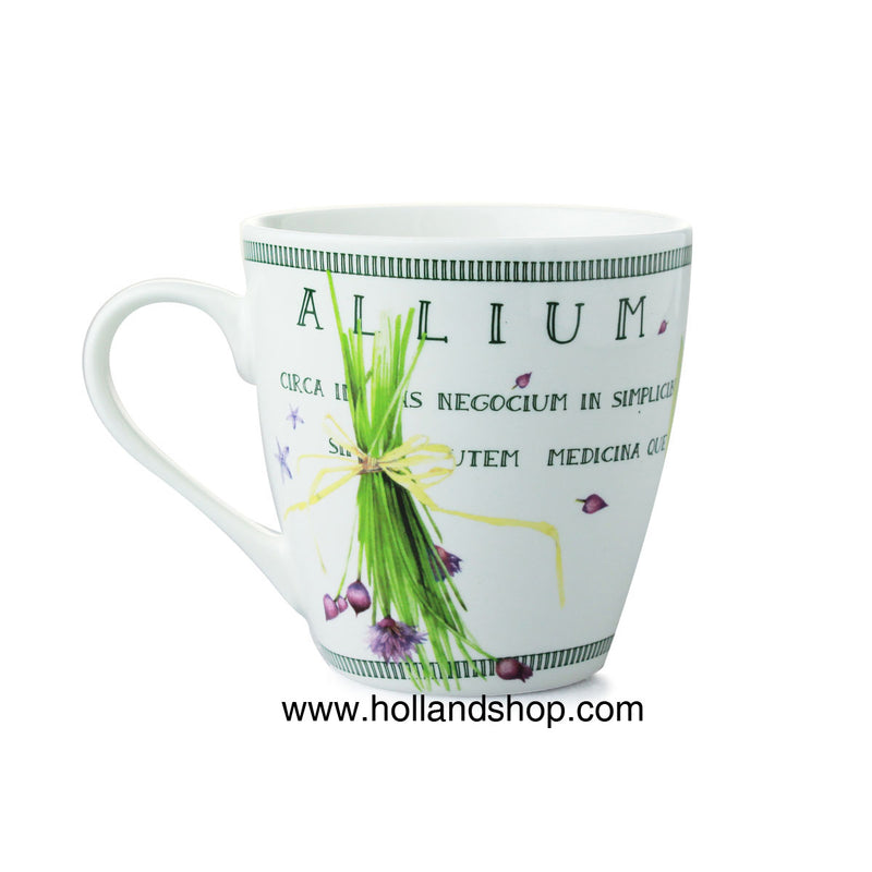 "Mug - Marjolein Bastin ""Nature"" - Chives in Gift Box"